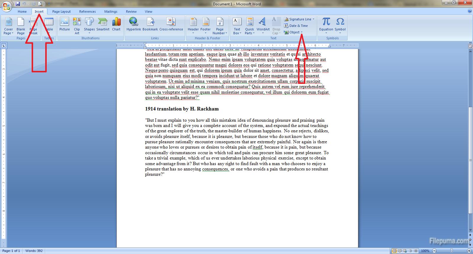 Document merge 2