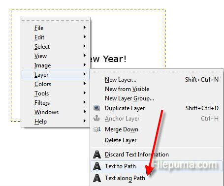 How to Flip Text Upside Down With GIMP? | News – Filepuma com