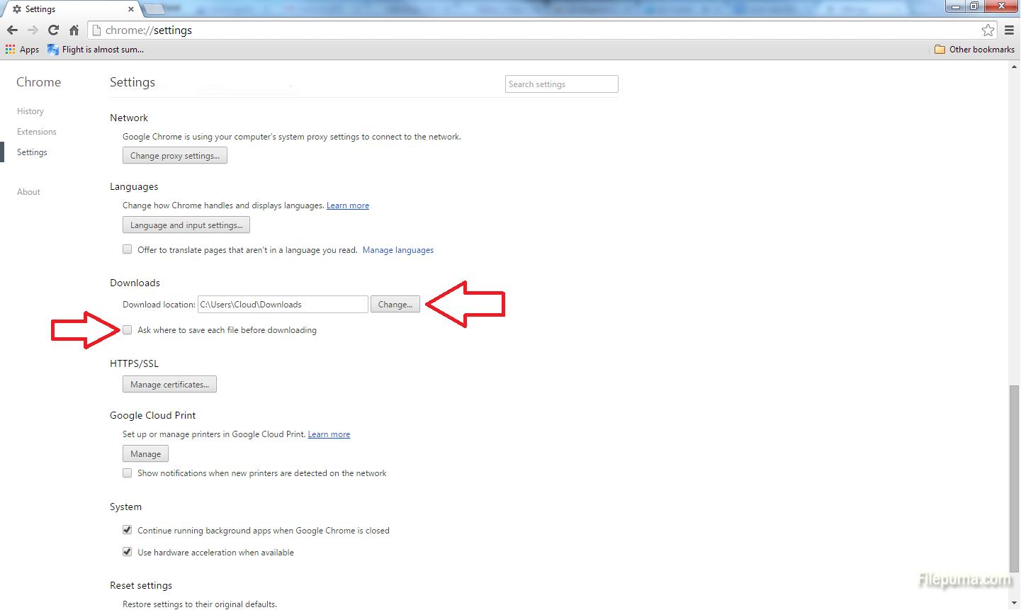 Google Chrome 5