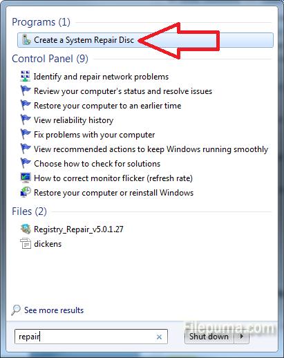 System Repair Disk 1