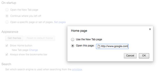 set-homepage-in-chrome